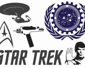 Star trek clipart live long.