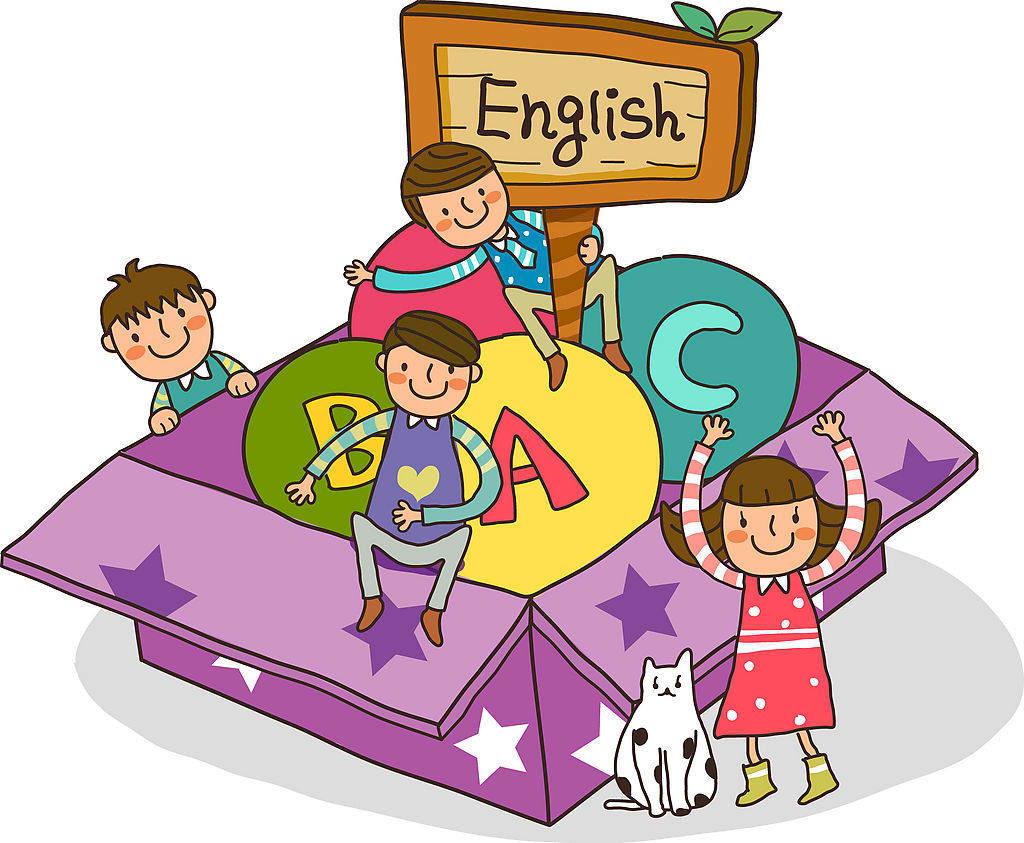 Kids English Clipart.