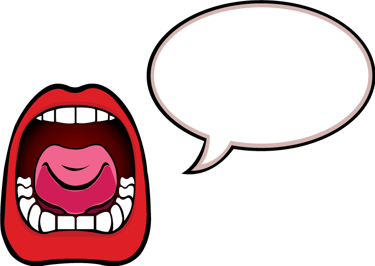 Screaming Mouth Clipart Png.