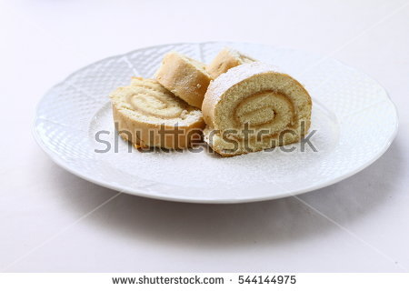 Sponge Cake Stock Photos, Royalty.