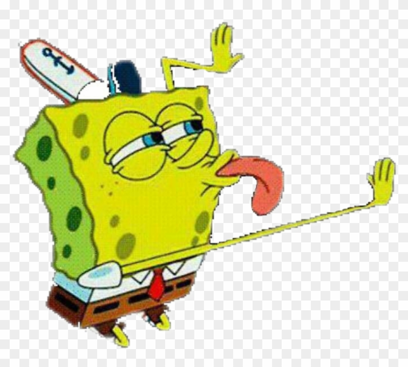 Spongebob Memes Licks, HD Png Download.