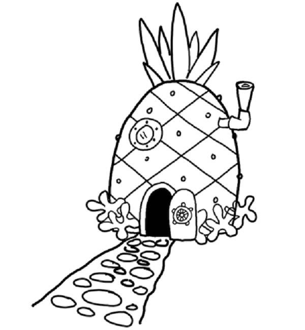 spongebob house clipart Clipground