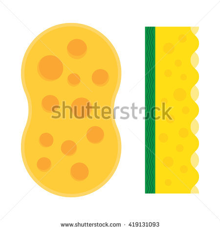 Sponging clipart #12