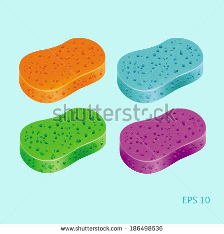 Sponge Painting Stock Photos, Royalty.