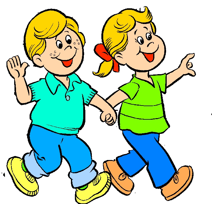 Two People Walking Clipart#1869349.
