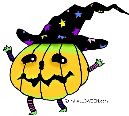 Spooky Pumpkin Clipart.