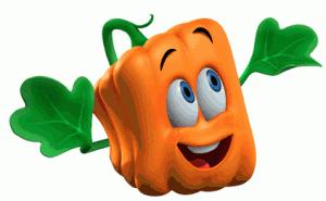 Spookley The Square Pumpkin Clipart.