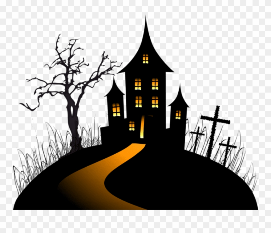 Free Png Download Halloween Creepy Castle Png Images.