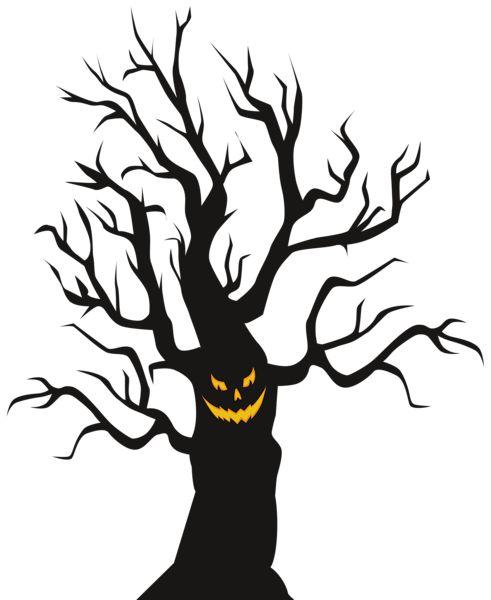 Spooky Tree Cliparts.