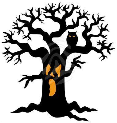 Halloween Tree Art Images & Pictures.