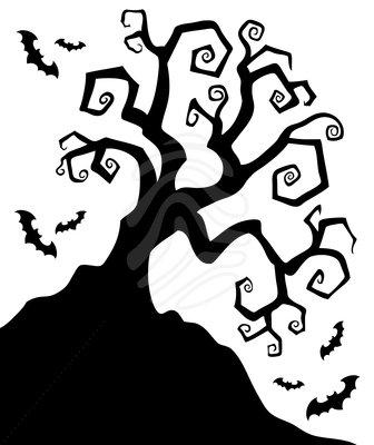 Halloween Spooky Clipart.