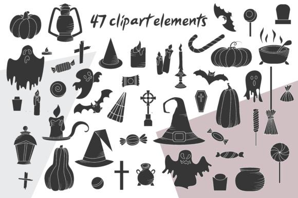 Spooky Halloween Clipart.