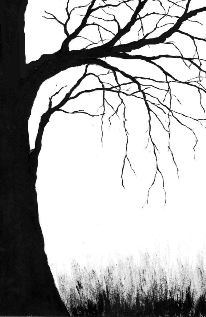 Spooky Tree Cover by blablover5 on deviantART.