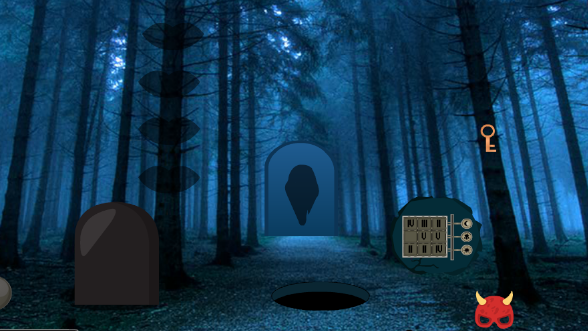 Big Spooky Forest Escape.