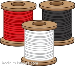 Spool of thread clip art.