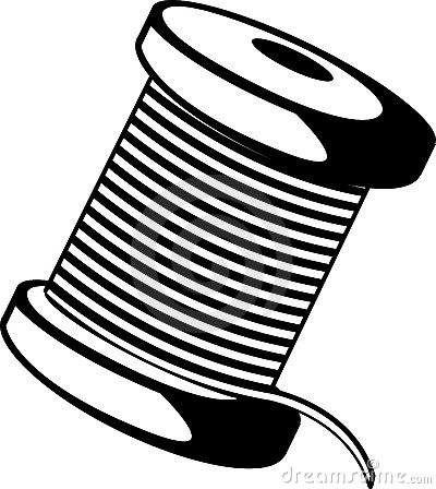 Wire Spool Stock Illustrations.
