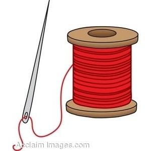 Spool of thread clip art.