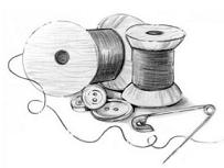 Free Spool Clipart.