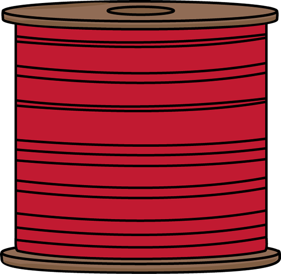 Spool of thread clipart.