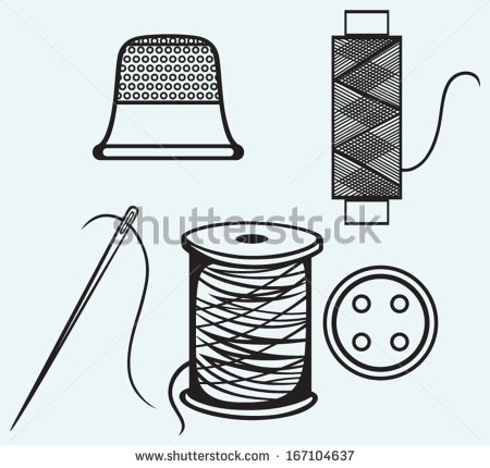 Thread Spool Stock Photos, Royalty.