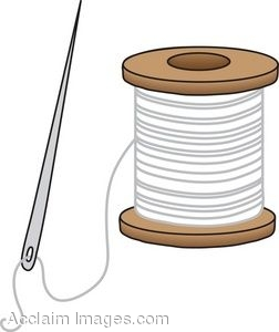 Thread spool clipart.