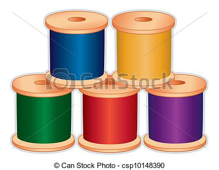 Spool thread Vector Clipart Royalty Free. 1,491 Spool thread clip.