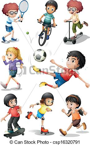 Sport activity clipart - Clipground
