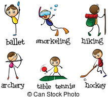 Sports activity Vector Clipart Royalty Free. 96,898 Sports.