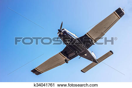 Stock Photography of light sport aircraft. Close up k34041761.