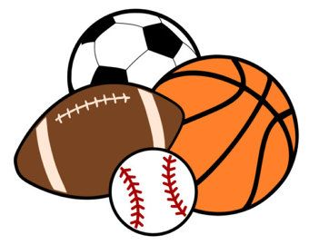 Image result for sports balls clipart.