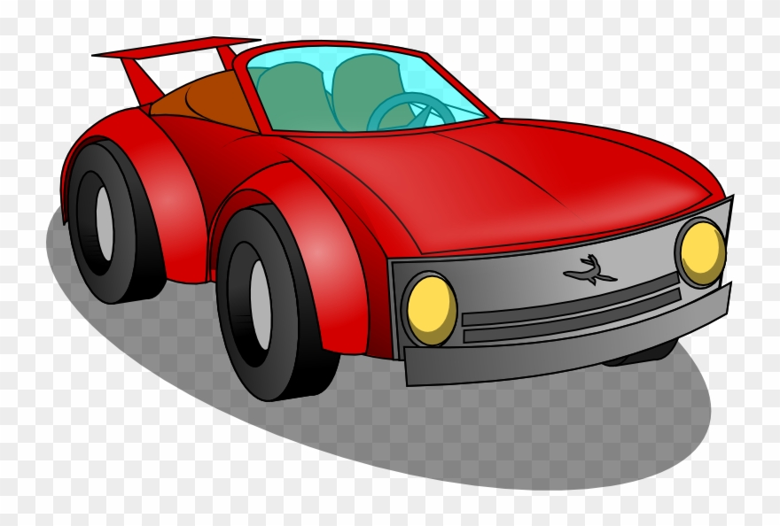 Toy Race Car Clipart.