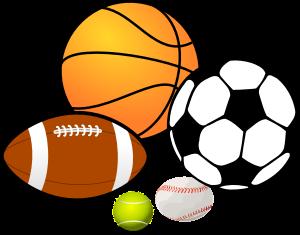 Sports complex clipart.