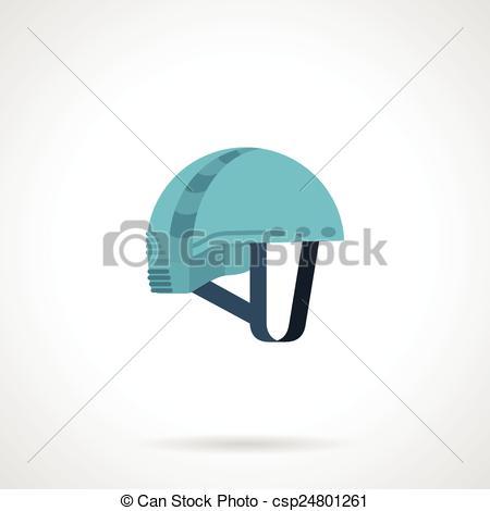 Rock Climbing Helmet Clip Art.