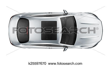 Stock Illustrations of Sport coupe car.
