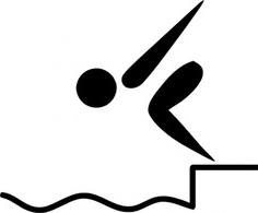 Olympic Sport Symbols.