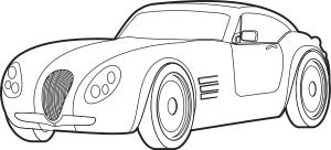 Sports Car 2 Clip Art Download.