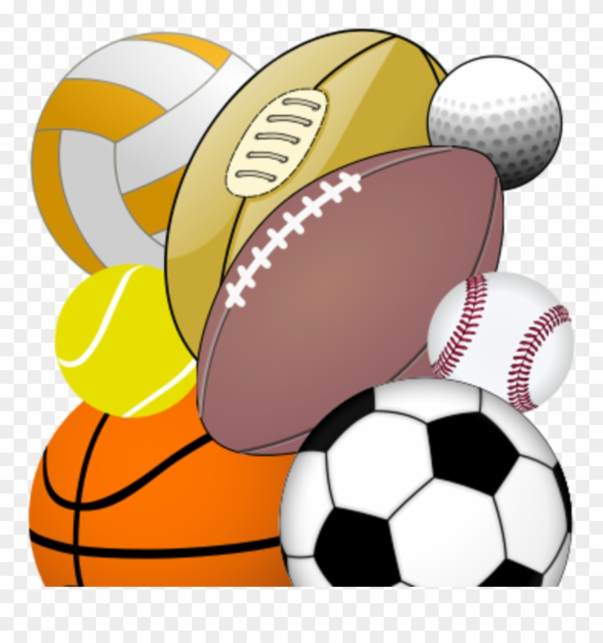 Sports Equipment Clipart Physical Education.