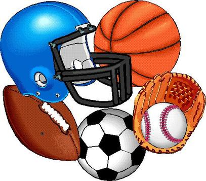Fall Sports Clipart.