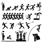 Sport event clipart.
