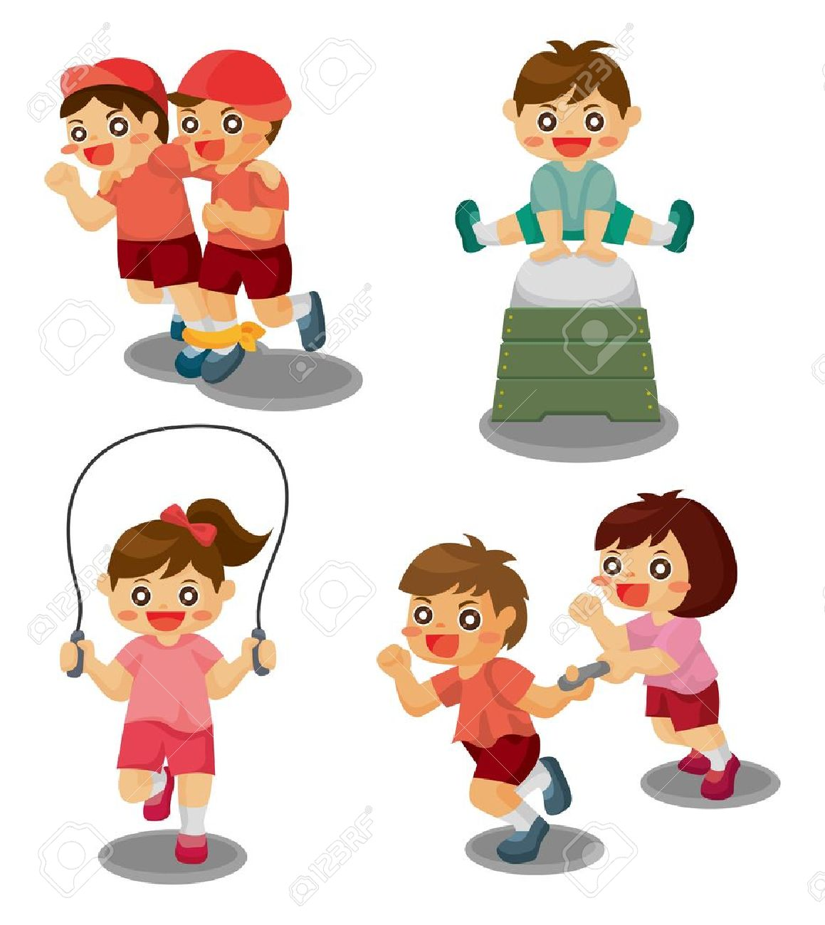Student Sport Game Royalty Free Cliparts, Vectors, And Stock.