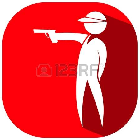 6,703 Shooting Gun Cliparts, Stock Vector And Royalty Free.