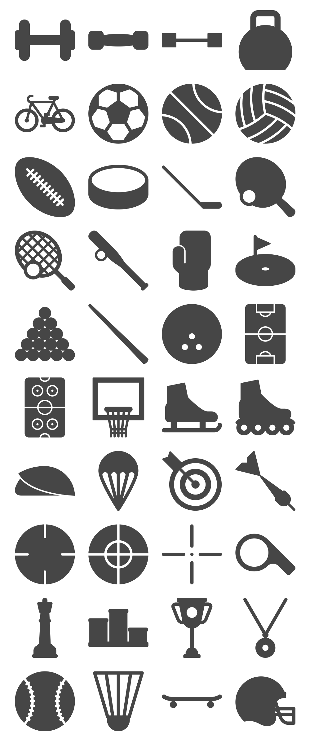 40 Responsive Sports Icons [Freebie] — Smashing Magazine.