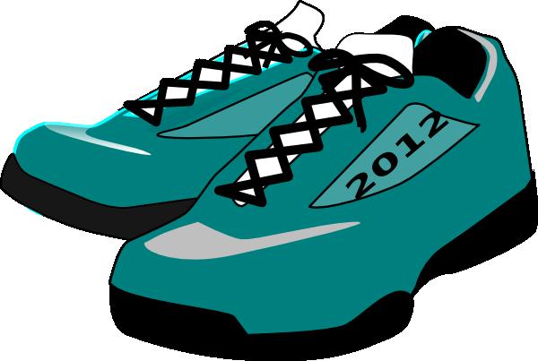 Sport Shoes Clipart.