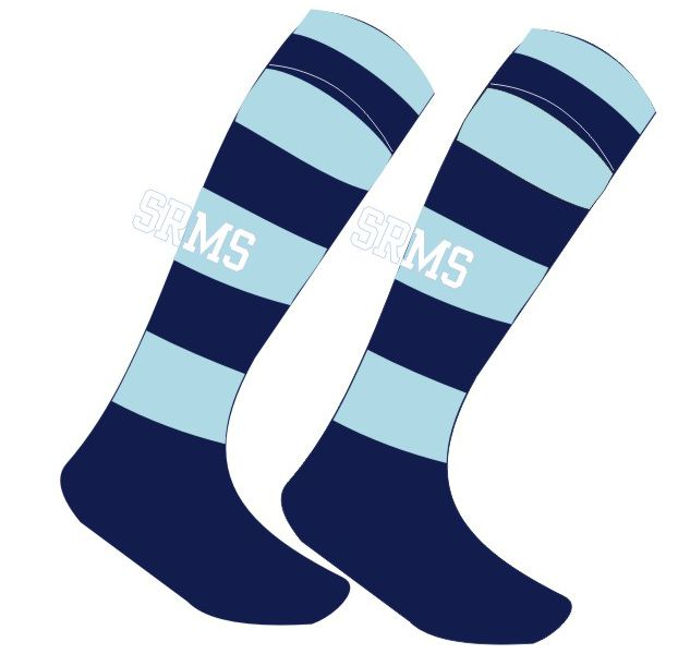 SRMS Girls Sport Sock.