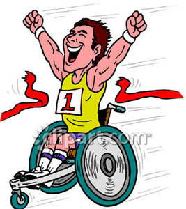 Sport wheelchair clipart clipground for Sedia a rotelle cartoon