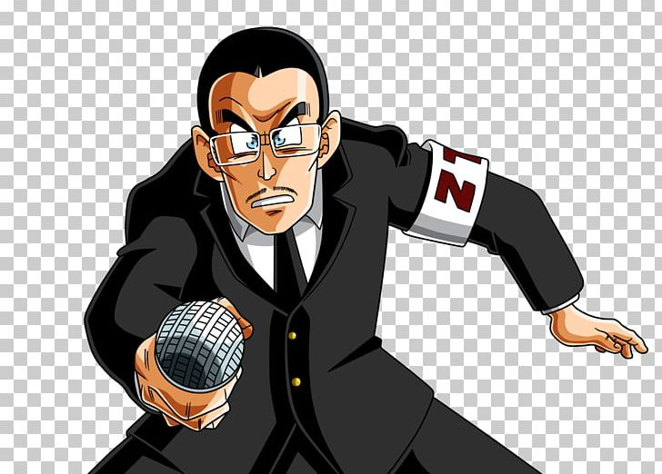 The Cell Games Doctor Gero Dragon Ball Sports Commentator.