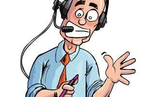 Sports announcer clipart » Clipart Portal.