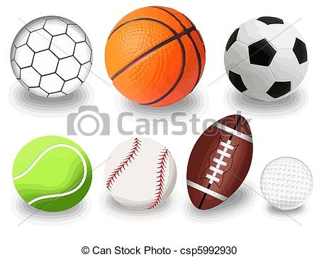 Sports balls Illustrations and Clipart. 130,939 Sports balls.