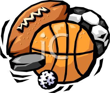 Variety of Sports Balls.