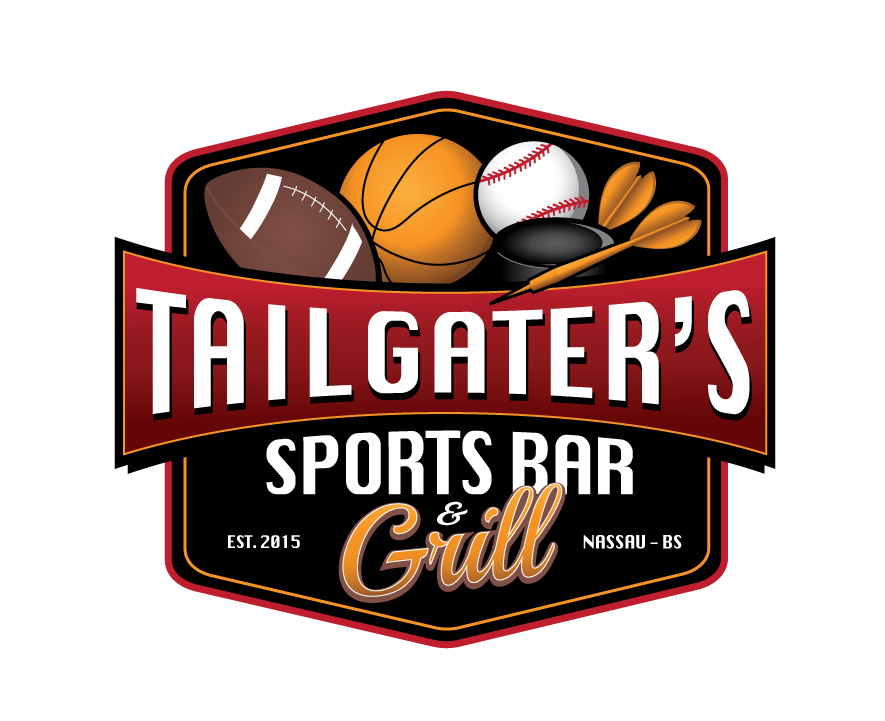 logo for a sports bar & grill by CJOHNSONBAHAMAS.